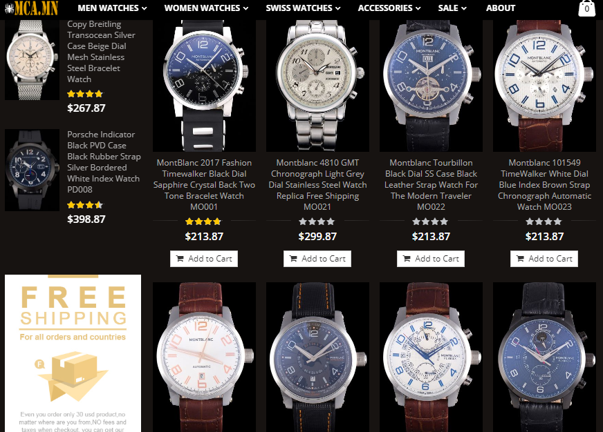 high quality montblanc replica watches