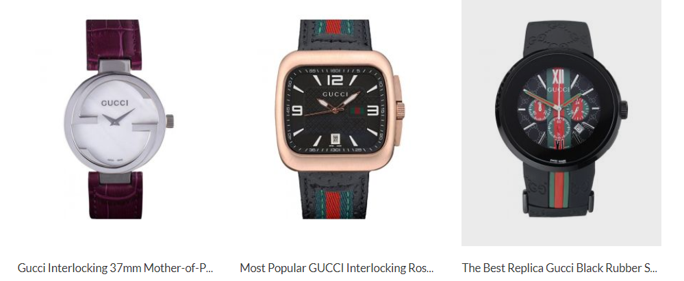 How about Gucci copy watch